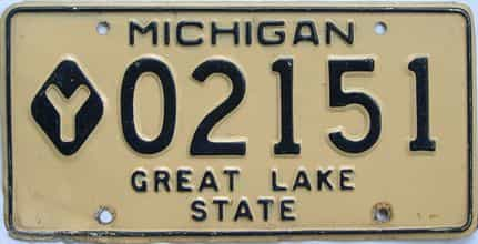 Michigan license plate for sale