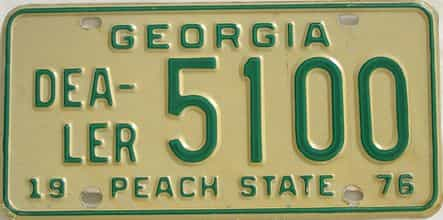 1976 GA (Dealer)