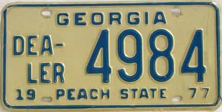 1977 GA (Dealer)
