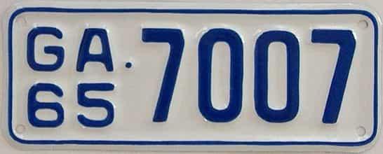 YOM RESTORED 1965 GA (Motorcycle)