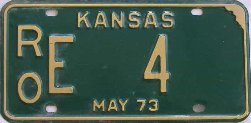 1973 KS license plate for sale