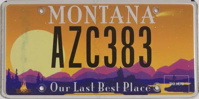 MT (Single) license plate for sale