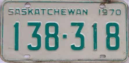 1970 CANADA (Saskatchewan)