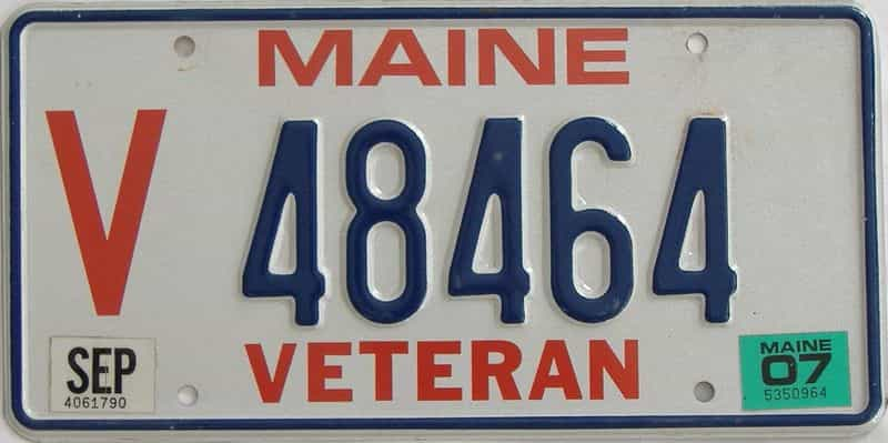 2007 ME (Single) license plate for sale