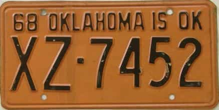 1968 OK (DMV not clear)