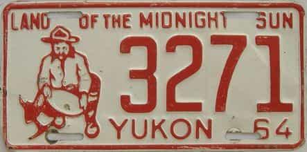 1964 CANADA (Yukon)