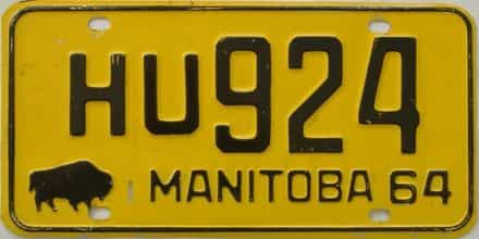 1964 CANADA (Manitoba)