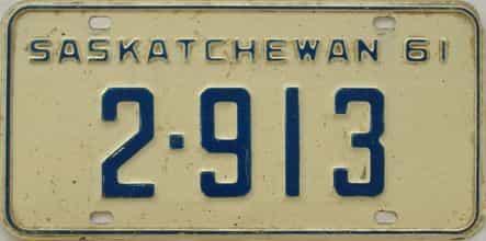 1961 CANADA (Saskatchewan)