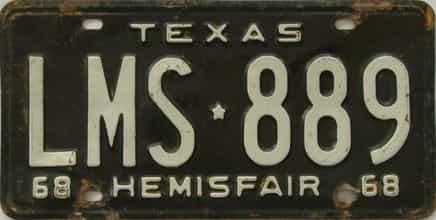 1968 TX (Single)