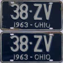 1963 OH (Pair)