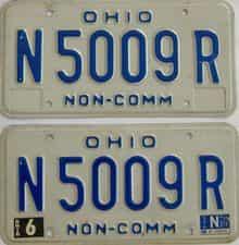 1981 OH (Non Pass)