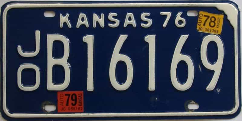 1979 KS license plate for sale