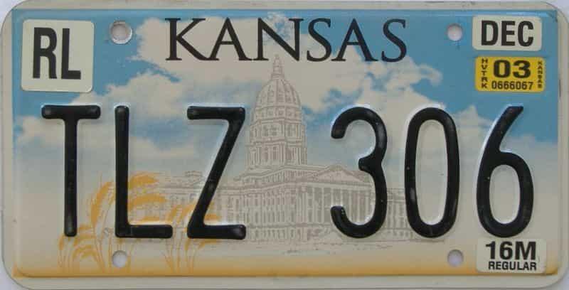 2003 KS (Truck) license plate for sale