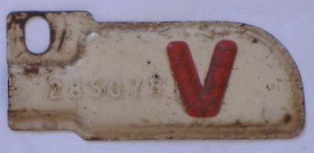 1943 California license plate for sale