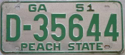 YOM 1951 GA