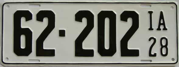 RESTORED 1928 IA (Single)