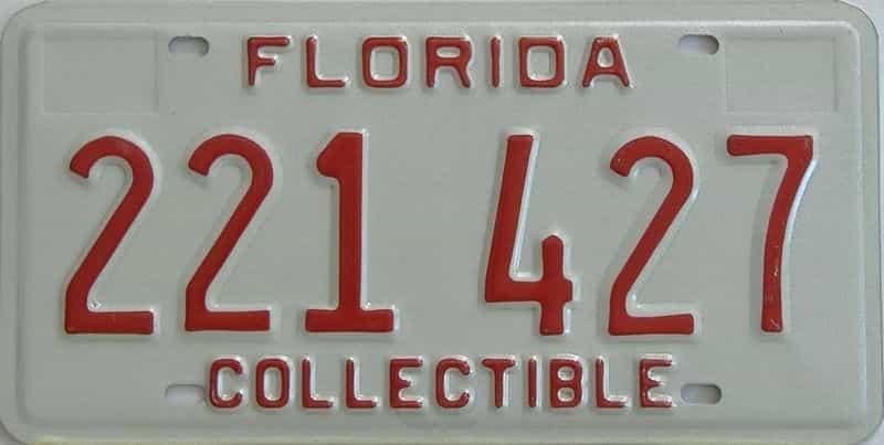 FL license plate for sale
