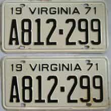 1971 VA (Pair)