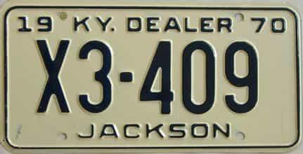 1970 KY (Dealer)