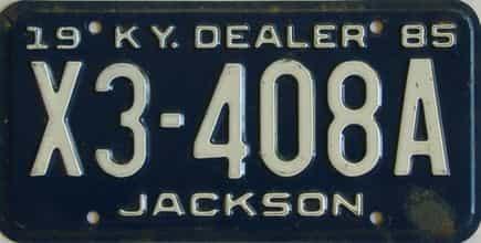 1985 KY (Dealer)