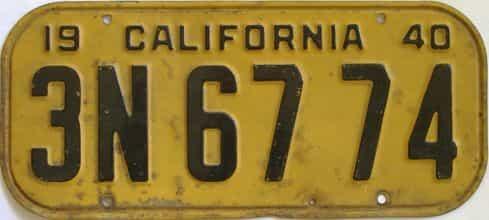1940 CA (Single)