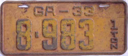 YOM 1933 GA (Truck)