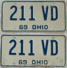 1969 OH (Pair)