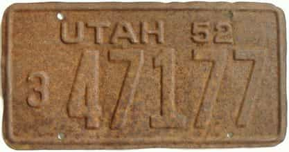 1952 UT (As-Found)