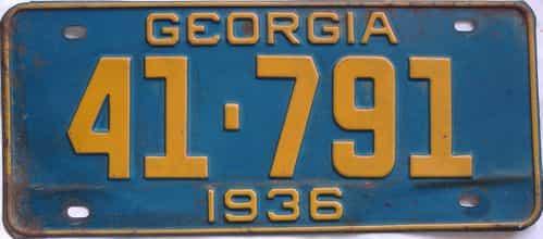 YOM 1936 GA (Single)