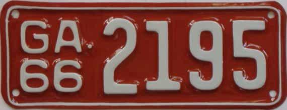 YOM RESTORED 1966 GA (Motorcycle)