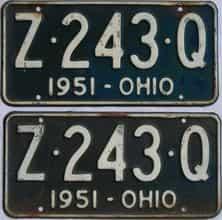 1951 OH (Pair)