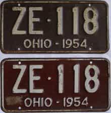 1954 OH (Pair)