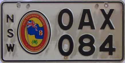 1988 Foreign license plate for sale