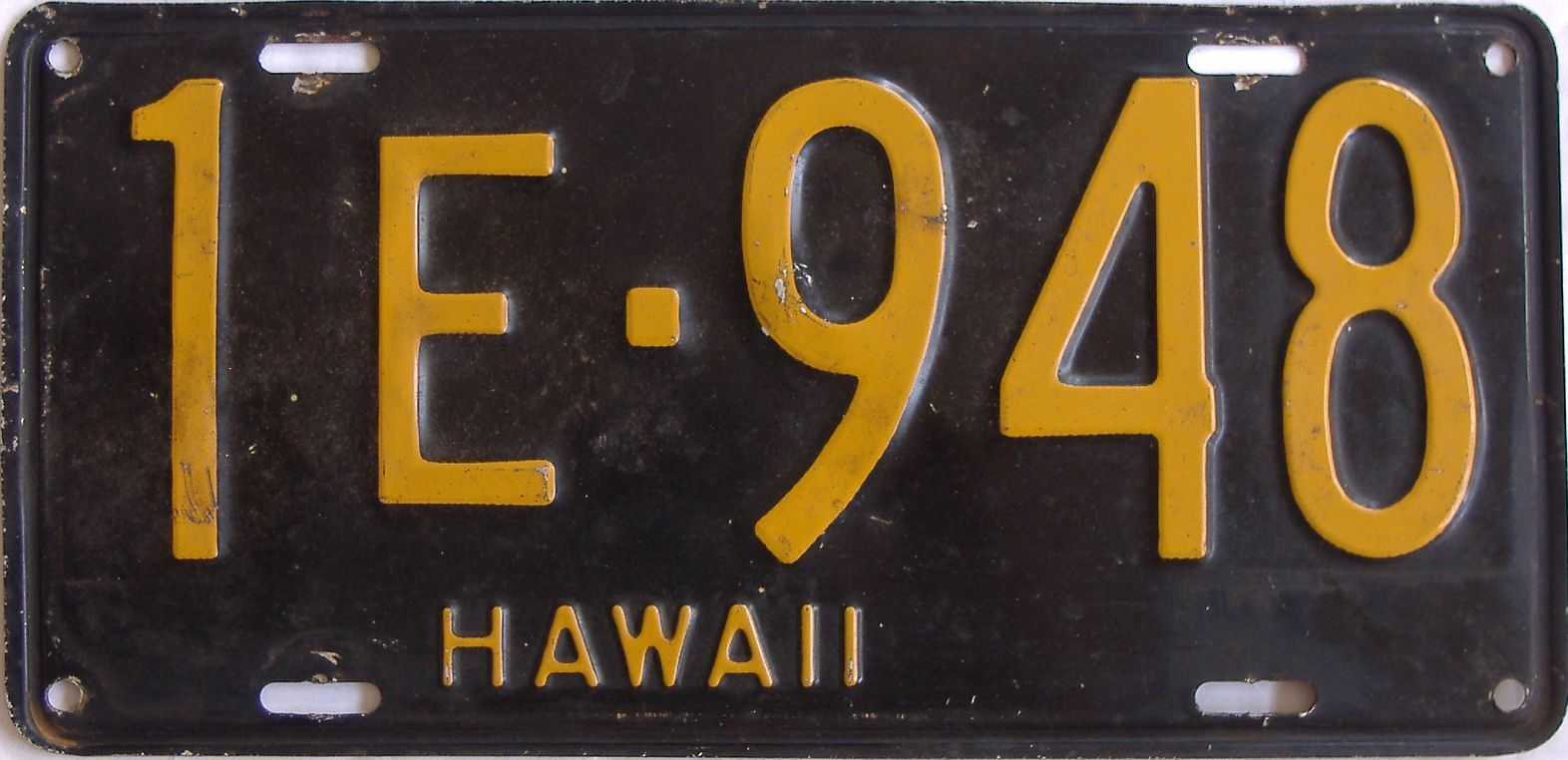 1953 Hawaii (Single) license plate for sale