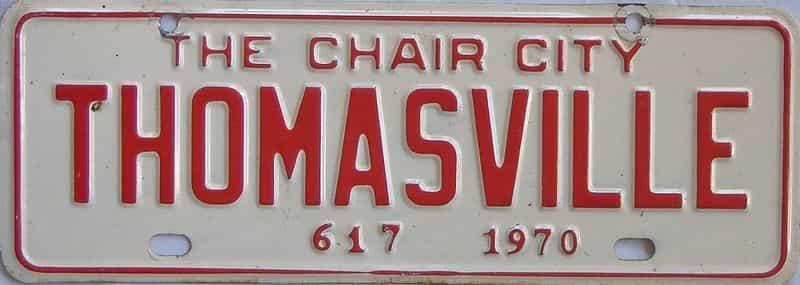 1970 NC (Non Passenger) license plate for sale