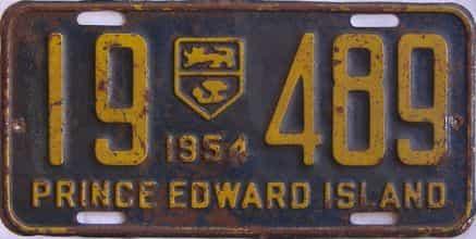 1954 CANADA (PEI)