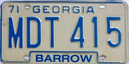 1971 GA
