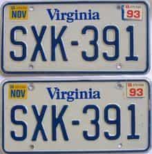 1993 VA (Pair)