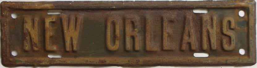 1948 Louisiana license plate for sale