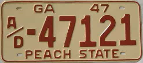 YOM RESTORED 1947 GA (Truck)