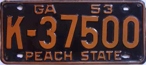 YOM 1953 GA