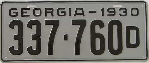 YOM RESTORED 1930 GA (Single)