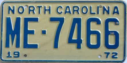 1972 NC