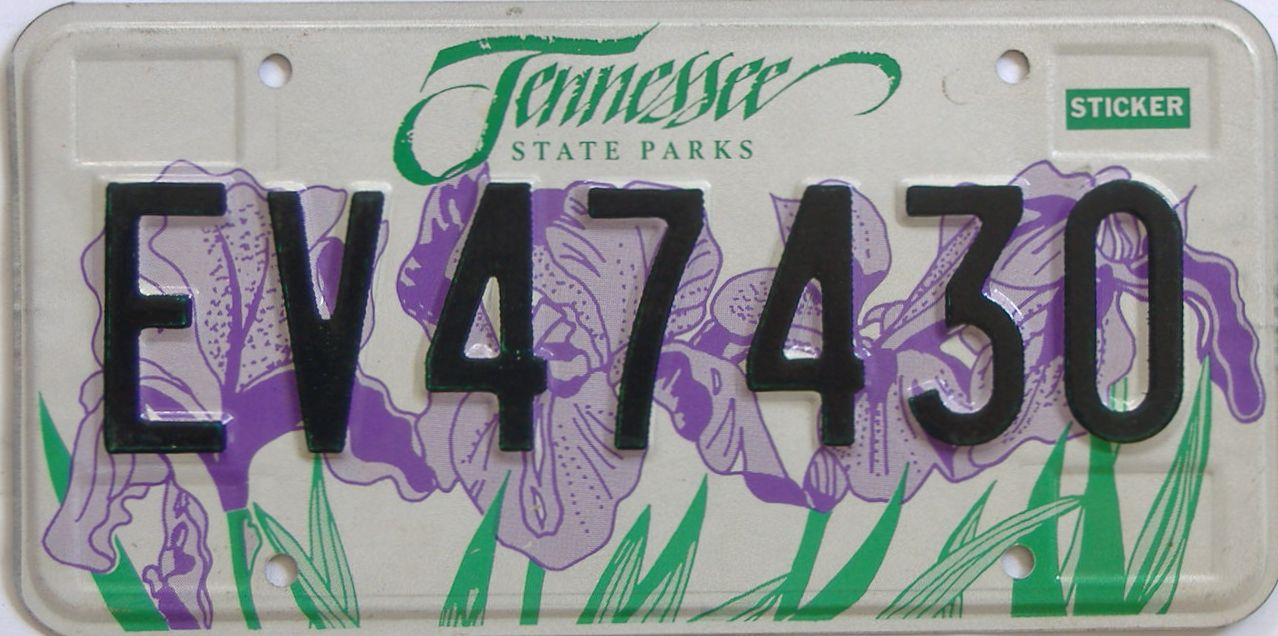 Tennessee Plates for Sale at Tag Dr.
