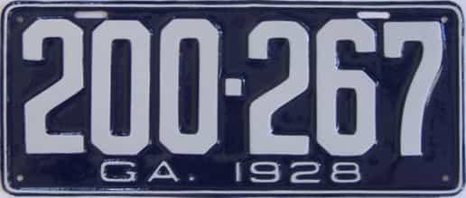 YOM RESTORED 1928 GA