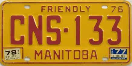 1978 CANADA (Manitoba)