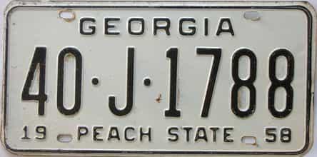 YOM 1958 GA