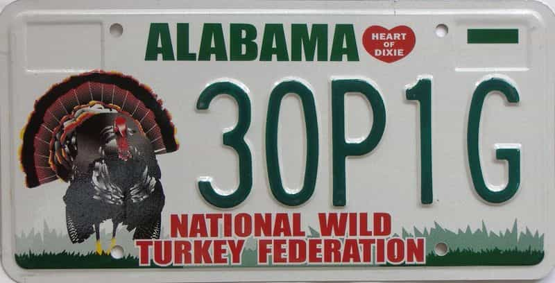 AL license plate for sale
