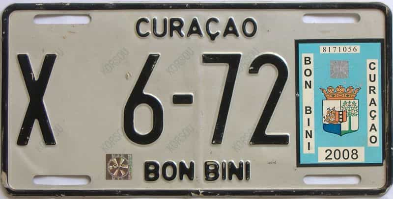 2008 Foreign license plate for sale