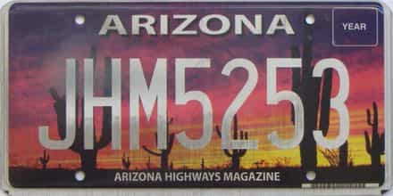 Arizona license plate for sale